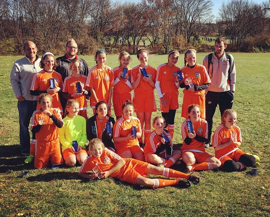 Nether United 2004 Girls Win PAGS Championship!